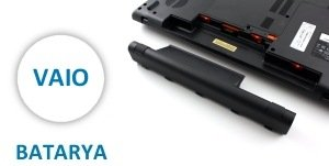 Sony Vaio Notebook Batarya